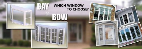 What is the difference between Bay window style and Bow window style?